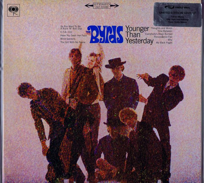 The Byrds Lp Younger Than Yesterday Simply Vinyl Svlp