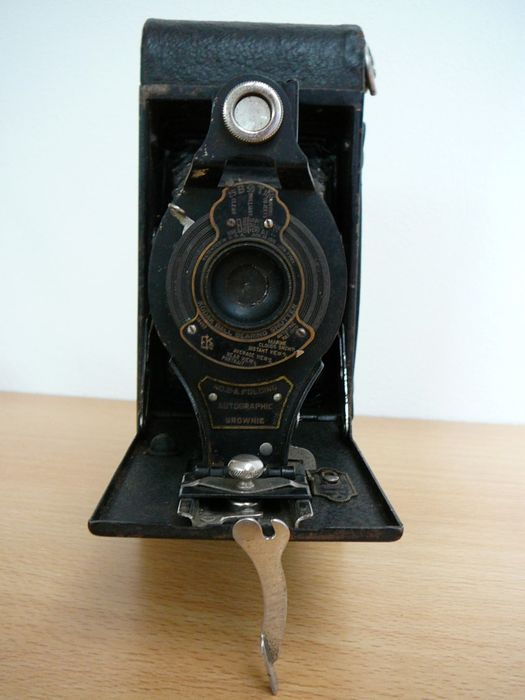 how to open no 2 folding autographic brownie