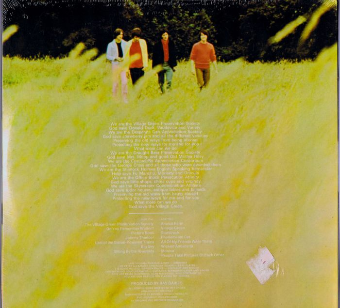 The Kinks Lp Are The Village Green Preservation Society