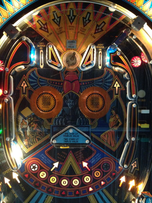 bally black pyramid pinball machine