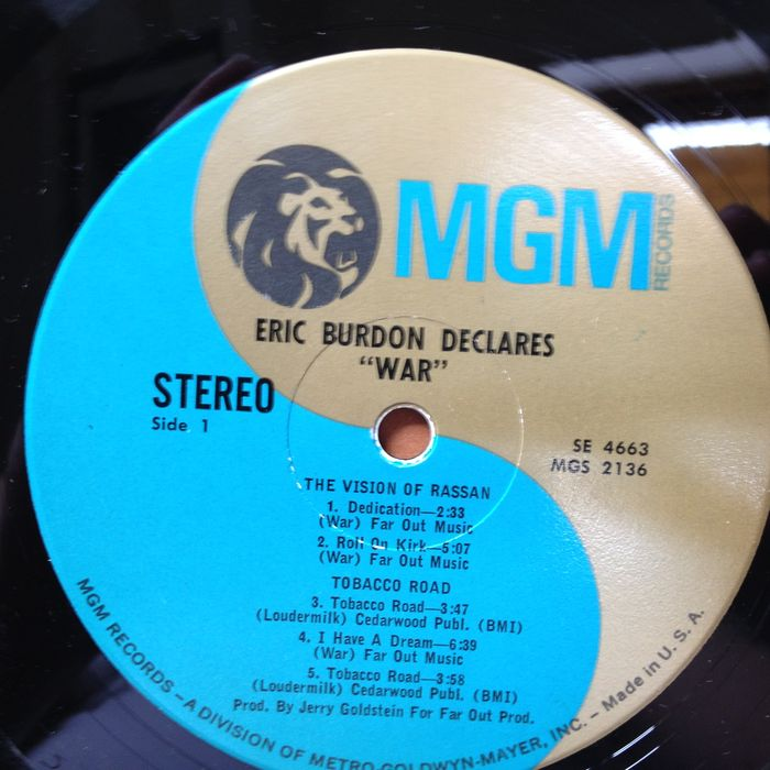 Eric Burdon Declares War Eric Burdon Declares War