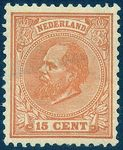 Check out our The Netherlands 1872 - King William III - NVPH 23 with certificate