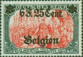 Check out our Belgium 1916 - Occupation stamp with overprint - OBP OC 25A