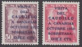 Check out our Spain 1950 - Overprint - Michel 985/986