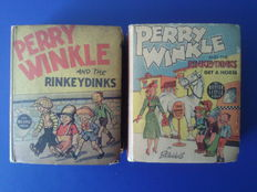 Perry Winkle and the Rinkeydinks + Perry Winkle and the Rinkeydinks get a horse - stevige kaft - (1937/1938)