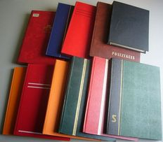 World - Batch in 11 large and small stock books