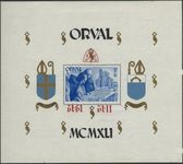Check out our Belgium 1942 - Blok Orval -  OBP BL 24 with inverted overprint