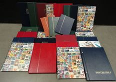 World - Batch of topical stamps in 27 stock books and on stock cards
