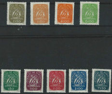 Portugal 1948/1949 - Karavelle - Michel 725/729 and 744/747