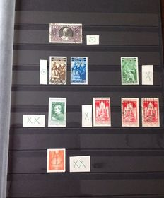 Vatican City 1933/1947 - Small selection of stamps between Michel 33 and 146