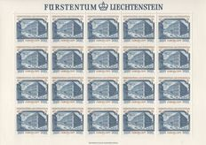 Liechtenstein 1978/1979 - Collection of 47 sheetlets, the years complete