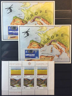 Europa stamps - Collection Cept from 1973 onward