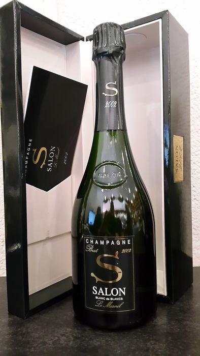 2002 salon cuvee 39 s 39 le mesnil blanc de blancs champagne 1 bottle catawiki for Salon blanc de blanc