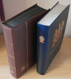 South and Central America, Caribbean 1853/2008 - Collection in 2 thick stock books including classic