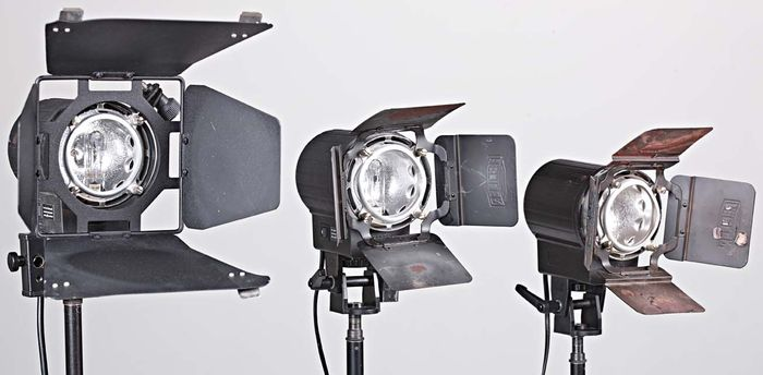 3 hedler video fotolampen for Foto lampen