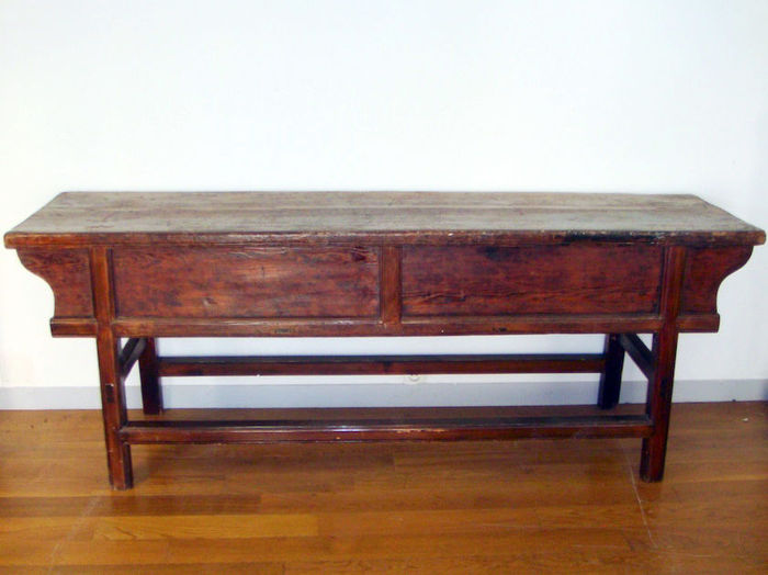 Canton region console table china early 20th century for Table 6 in canton
