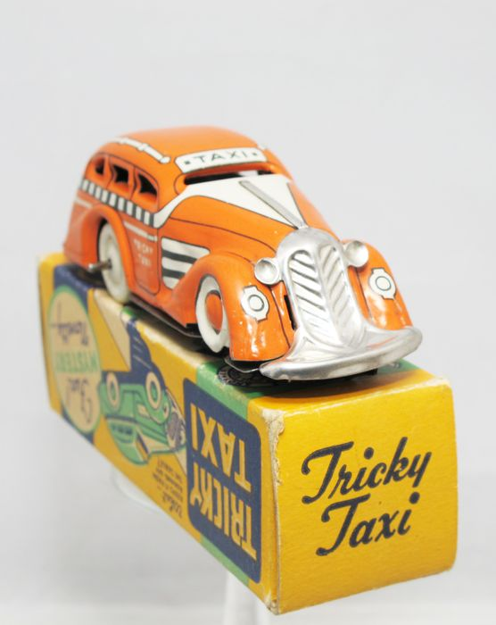 Toys From The 40s : Marx toys usa length cm clockwork tricky taxi