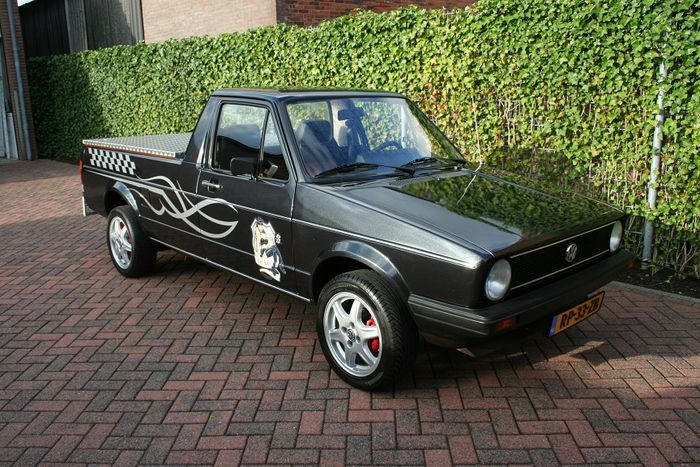 vw caddy mk1 pick up 1 6 essence 1987 catawiki. Black Bedroom Furniture Sets. Home Design Ideas