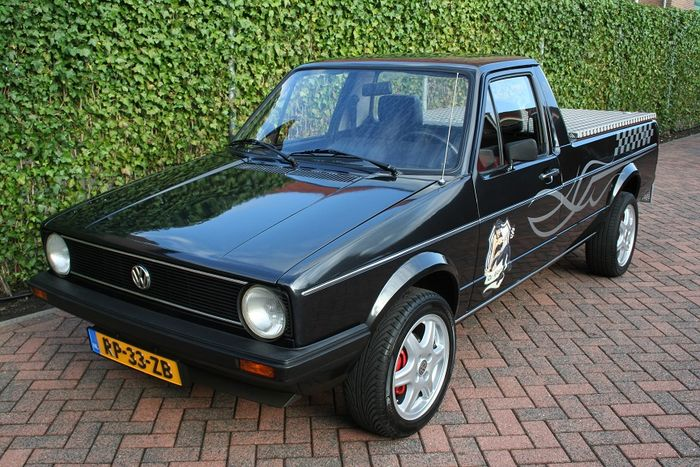 vw caddy mk1 pick up 1 6 l benziner 1987 catawiki. Black Bedroom Furniture Sets. Home Design Ideas