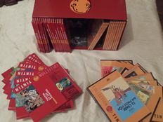 Collection Tintin - 23 livrets + 23 DVD - C - (2010)