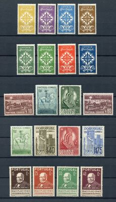 Portugal 1940/1941 - Legion, Monarchy, Rowland Hill and Traditional clothing - Michel 606 to 641 (without 630/631)