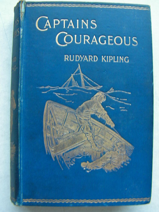 rudyard kiplings captains courageous essay Feeney (black mountain): rudyard kipling spent four years (1892 - 1896) at home in vermont with his american wife carrie and their young familythere, in 1896, he wrote captains courageous: a story of the grand banks it was first serialized then appeared in book form, with many revisions from the manuscript -- which is still preserved.