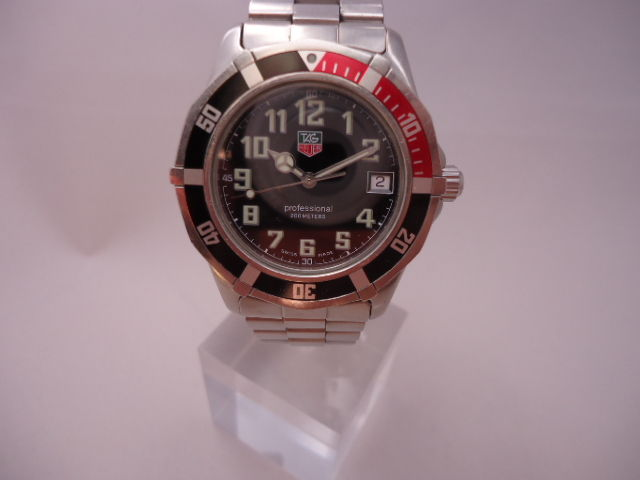 Tag heuer divers watch catawiki for Tag heuer divers watch