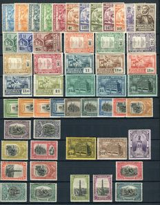 Portugal 1924/1926 - Camoens and 300 years Independence - Michel 316/346 and 385/405