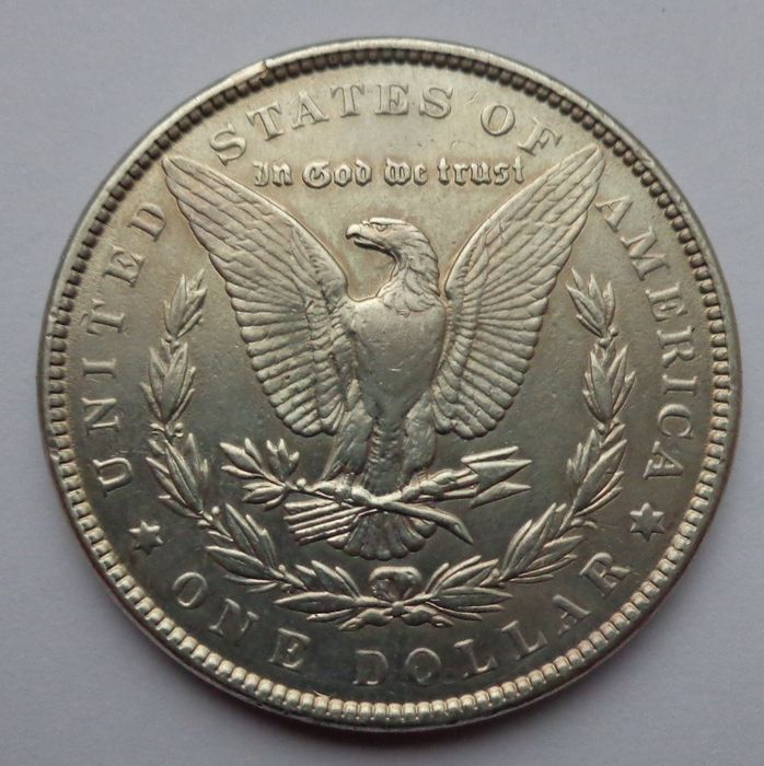 United States 1 Dollar 1879 1921 4 Different Coins