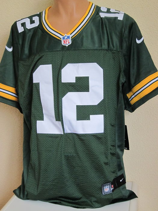 aaron rodgers nflgreen bay packers trikot original. Black Bedroom Furniture Sets. Home Design Ideas