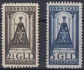 Check out our The Netherlands 1923 - Government anniversary - NVPH 130 + 131, with certificate