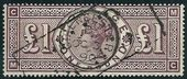 Check out our Great Britain 1884 - Queen Victoria £ 1 brown-lilac - Yvert 89