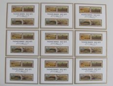 World - Batch of stamps, sheetlets, postal items and postal stationaries, booklets and FDCs