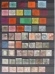 Italy - Batch including Papal state, Venice, Lombardy, Trentino from 1852 onward