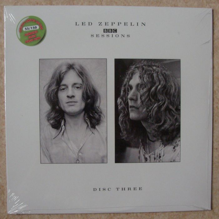 led zeppelin bbc sessions complete set 4 lp catawiki. Black Bedroom Furniture Sets. Home Design Ideas