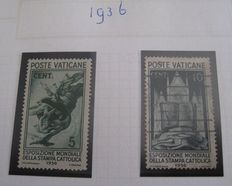 Vatican City, Italy, Greece, San Marino - - Collection on pages