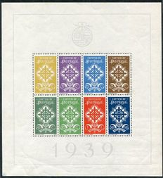 Portugal 1939/1941 - Miniature sheets Legion, Rowland Hill and Traditional Clothing - Michel miniature sheets 1, 3 and 4