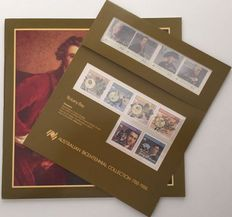 Australia - Collection in stock book + four Bicentennial 1988 issues