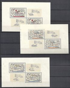 European countries - Ove 185 miniature sheets, sheetlets and combinations