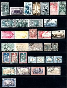 Italy 1870/1936 - Small selection on stock card