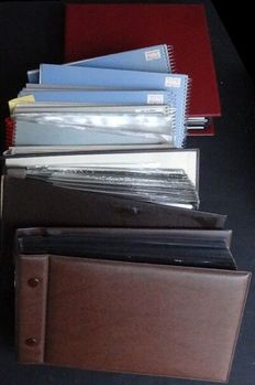 Italy 1959/1977 - Batch of over 500 FDCs, covers, cards and miscellaneous in 8 small albums