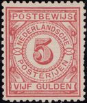 Check out our The Netherlands 1884 - Postbewijs stamp - NVPH PW6A