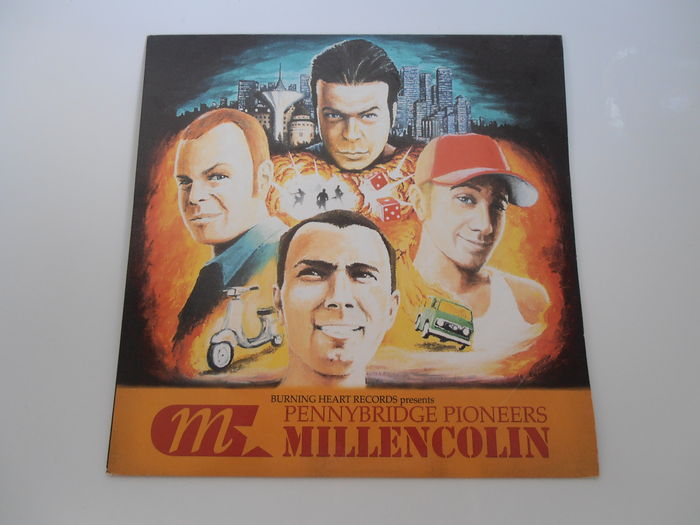 Millencolin Pennybridge Pioneers Lp Europe Burning