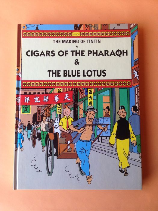 tintin and the cigars of the pharaoh pdf