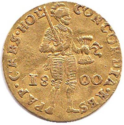 batavian republic holland ducat 1800 gold catawiki