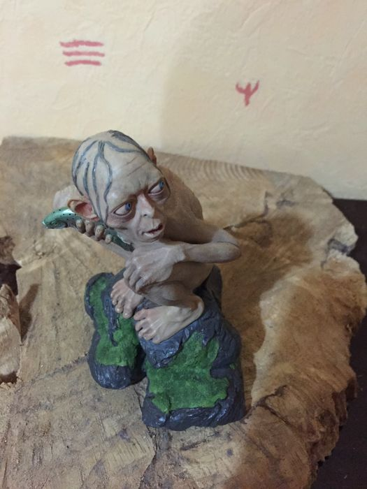 Citaten Uit Lord Of The Rings : Lord of the rings two towers weta gollum beeldje