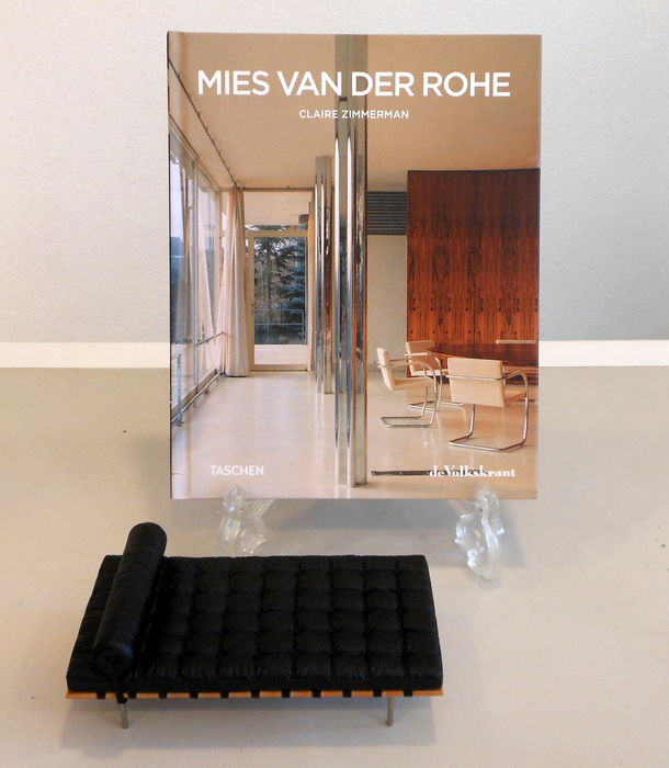 literature boek mies van der rohe and miniature day bed catawiki. Black Bedroom Furniture Sets. Home Design Ideas