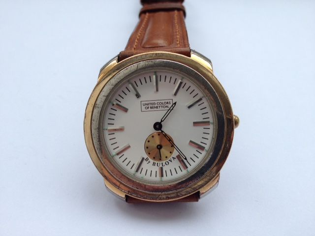 United colors of benetton bulova men 39 s wrist watch catawiki for Benetton watches