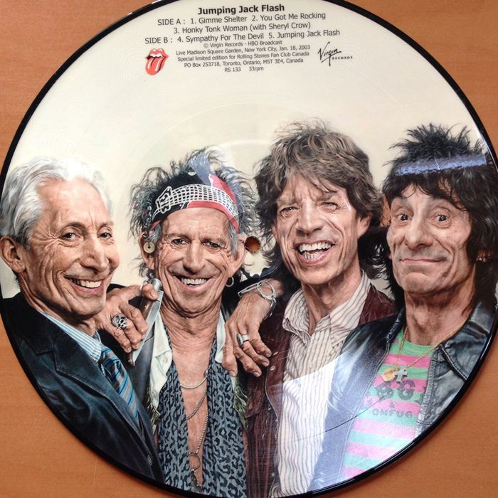 "The Rolling Stones 10"" Picture Disc ""Jumping Jack Flash ..."