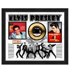 Check out our Elvis Presley Gold Record 24 Carat Gold Plated 'Jailhouse Rock'